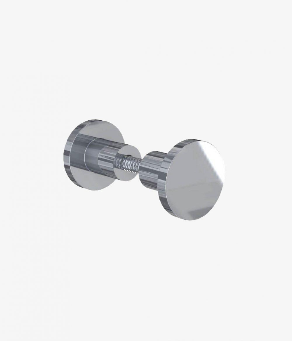 Puxador 1 Furo Inox Para Porta Kiari